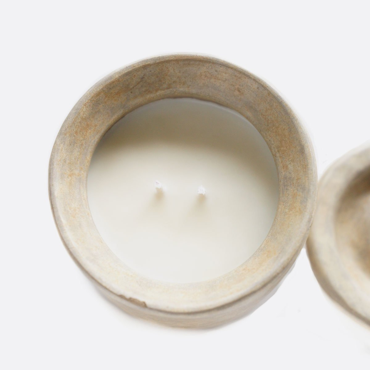 ENDS & MEANS  POTTERY SOY CANDLE (SAND)2