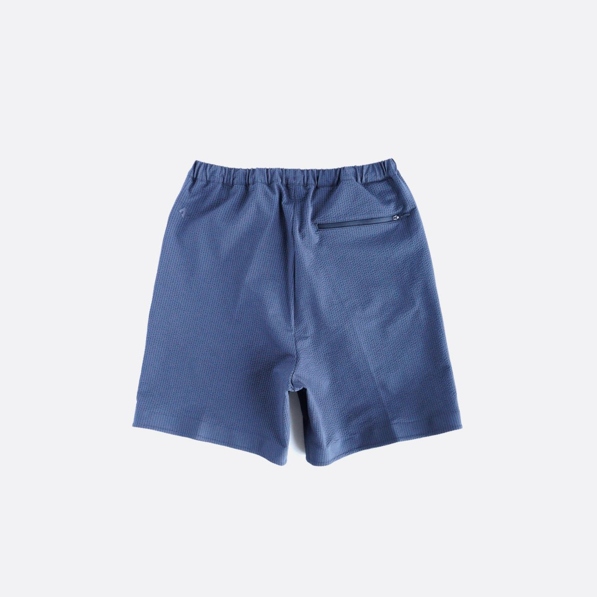 DESCENTE PAUSE SEERSUCKER SHORT PANTS (NAVY)2