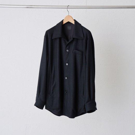 デッドストックシルク・シャツジャケット