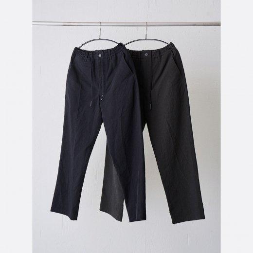 高密度二重織りコットン・ワイドパンツ