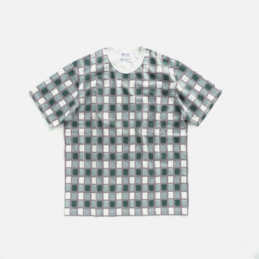 ALL-OVER PRINTED T-SHIRT(GREEN)