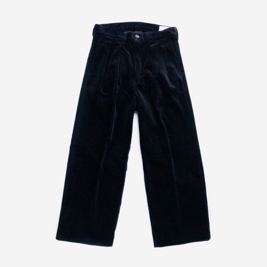 CORDUROY TWO-TUCK TROUSERS