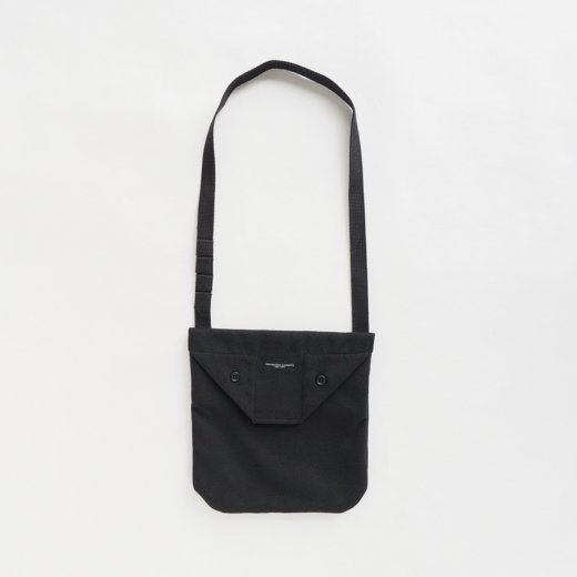 SHOULDER POUCH - FAKE MELTON