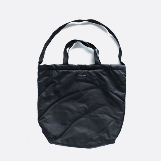 CARRY ALL TOTE - FLIGHT SATIN(BLACK)