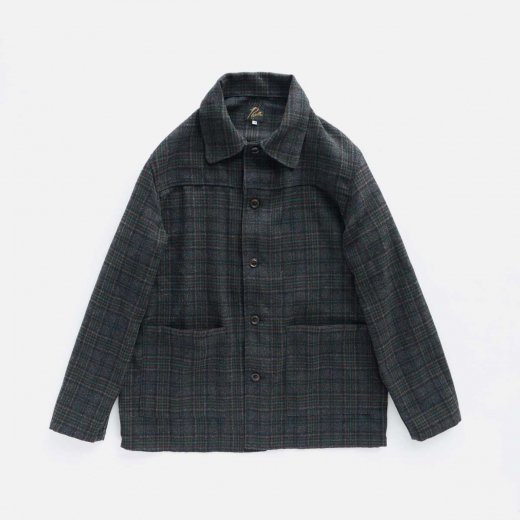 <img class='new_mark_img1' src='https://img.shop-pro.jp/img/new/icons1.gif' style='border:none;display:inline;margin:0px;padding:0px;width:auto;' />D.N. COVERALL - PLAID TWEED