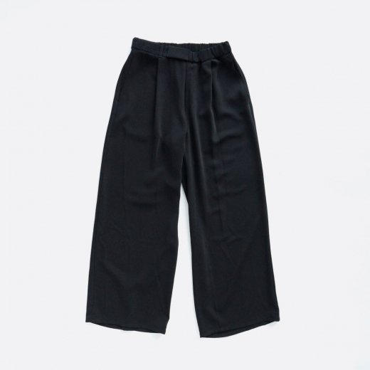 SATIN WIDE CHEF PANTS