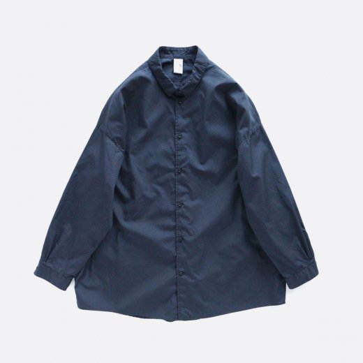 COTTON 100/2 COMBED YAM BROAD CLOTH OVERSIZE SHIRT