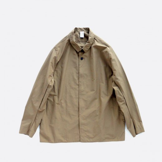 COTTON & FULLY DULL POLYESTER TYPEWRITER CLOTH SHIRT JACKET