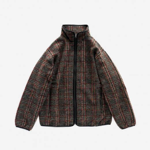 <img class='new_mark_img1' src='https://img.shop-pro.jp/img/new/icons1.gif' style='border:none;display:inline;margin:0px;padding:0px;width:auto;' />W.U. PIPING JACKET - PLAID KNIT JQ.