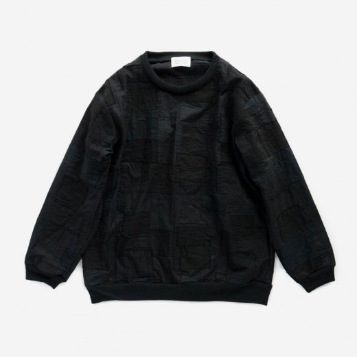 <img class='new_mark_img1' src='https://img.shop-pro.jp/img/new/icons1.gif' style='border:none;display:inline;margin:0px;padding:0px;width:auto;' />BORO PATCHWORK PULLOVER SHIRT