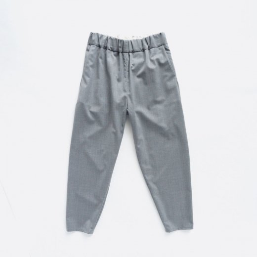 2/80 WOOL & POLYESTER GABARDINE STRETCH EASY  PANTS
