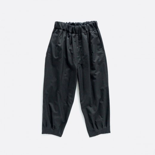 WOOL POLYESTER STRETCH KARSEY TUCK EASY PANTS