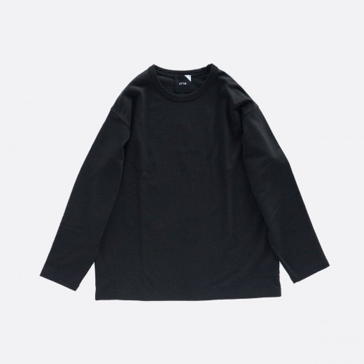 <img class='new_mark_img1' src='https://img.shop-pro.jp/img/new/icons1.gif' style='border:none;display:inline;margin:0px;padding:0px;width:auto;' />FINE WOOL COTTON URAKE CREWNECK SWEAT T-SHIRT