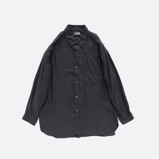 CUPRO COTTON REGULAR COLLAR SHIRT