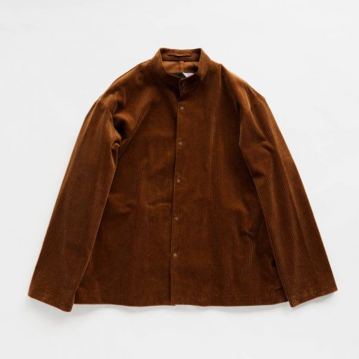 <img class='new_mark_img1' src='https://img.shop-pro.jp/img/new/icons39.gif' style='border:none;display:inline;margin:0px;padding:0px;width:auto;' />SUVIN CORDUROY STAND COLLAR JACKET