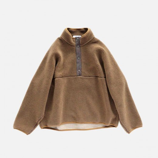 WOOL BOA HIGH NECK PULL OVER