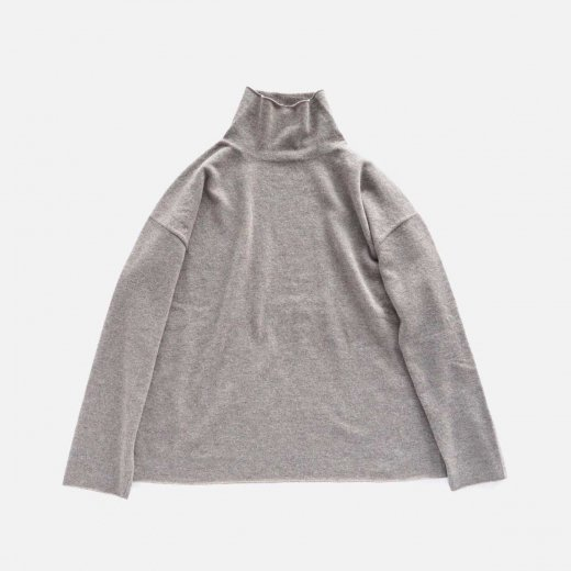 <img class='new_mark_img1' src='https://img.shop-pro.jp/img/new/icons1.gif' style='border:none;display:inline;margin:0px;padding:0px;width:auto;' />BOTTLE NECK KNIT PULLOVER