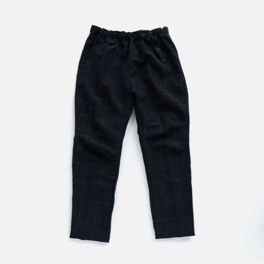 DRAWING CODE WOOL LINEN PANTS