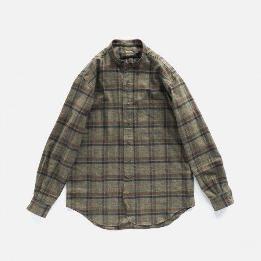 別注 FRONT ROUND  STAND COLLAR SHIRTS