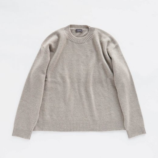 CASHMERE SABLE KNIT PULLOVER