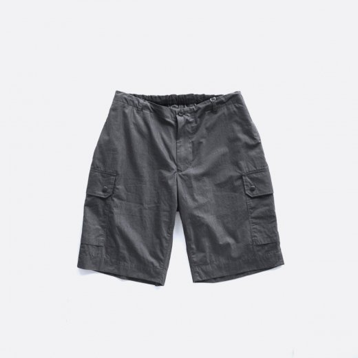 -21SS先行受注- HIGH COUNT COTTON/NYLON TWILL F2 CARGO SHORTS
