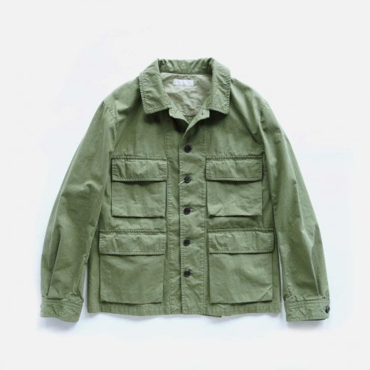 -21SS先行受注- ORGANIC COTTON NEPPED  WEATHER CLOTH B.D.U. JACKET