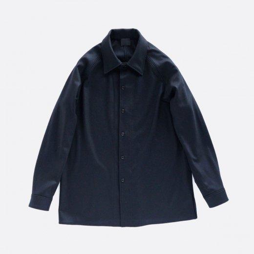 圧縮ウール・ニットシャツ