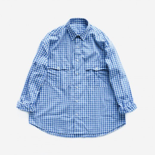 <img class='new_mark_img1' src='https://img.shop-pro.jp/img/new/icons1.gif' style='border:none;display:inline;margin:0px;padding:0px;width:auto;' />ROLL UP GINGHAM CHECK SHIRT