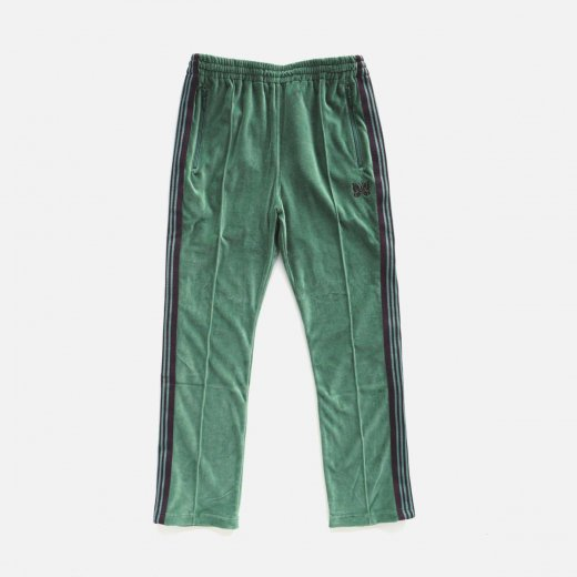 NARROW TRACK PANT -C/PE VELOUR