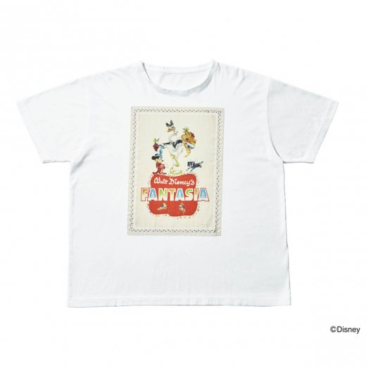 DISNEY FANTASIA / PORTER CLASSIC NEWTON COLLECTION BANDANA T-SHIRT