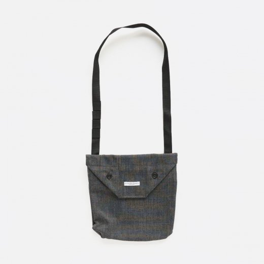 SHOULDER POUCH -SHARKSKIN