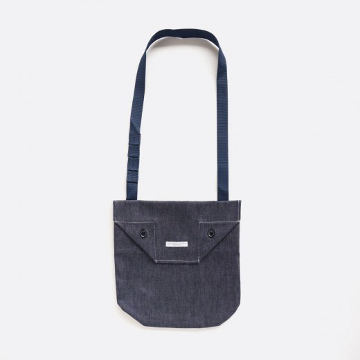 SHOULDER POUCH -8oz CONE DENIM