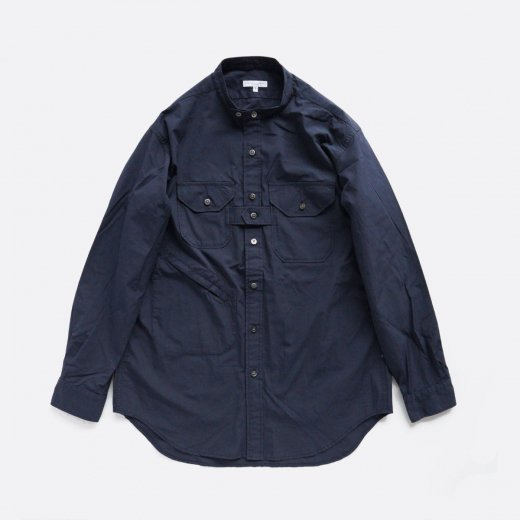 <img class='new_mark_img1' src='https://img.shop-pro.jp/img/new/icons1.gif' style='border:none;display:inline;margin:0px;padding:0px;width:auto;' />BANDED COLLAR SHIRT -100's 2PLY BROADCLOTH