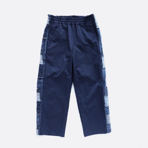 SALT SHRUNK NYLON TRACK PANTS W/BORO TRIM