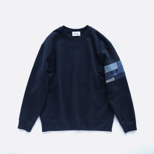 <img class='new_mark_img1' src='https://img.shop-pro.jp/img/new/icons1.gif' style='border:none;display:inline;margin:0px;padding:0px;width:auto;' />BORO BANDED ARM SWEATSHIRT