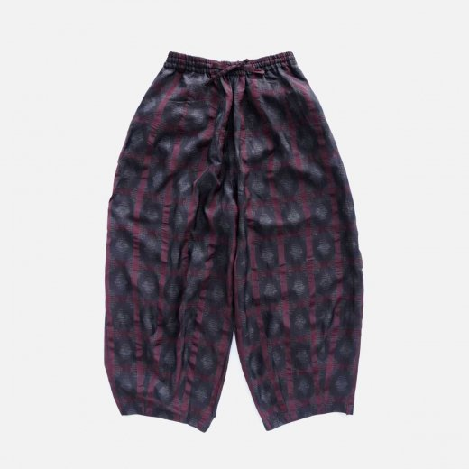 H.D.P. PANT -SPLASHED PLAID JQ.