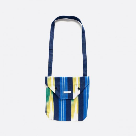 SHOULDER POUCH -COTTON IKAT