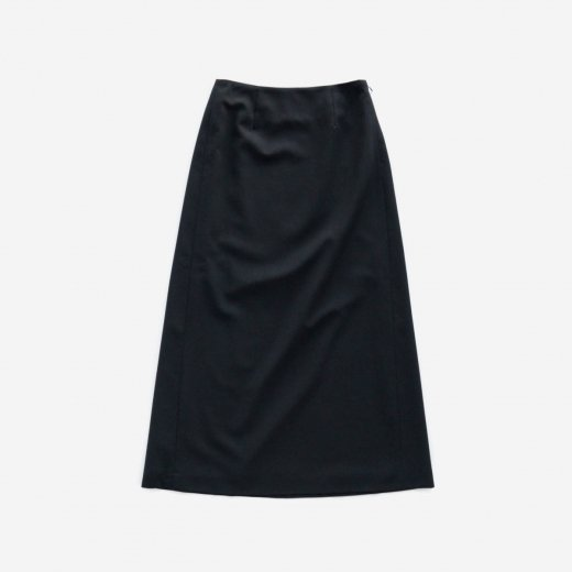WOOL PANAMA LONG SKIRT