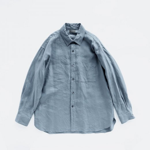 <img class='new_mark_img1' src='https://img.shop-pro.jp/img/new/icons1.gif' style='border:none;display:inline;margin:0px;padding:0px;width:auto;' />LINEN REGULAR COLLAR SHIRT