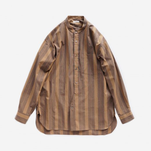 <img class='new_mark_img1' src='https://img.shop-pro.jp/img/new/icons1.gif' style='border:none;display:inline;margin:0px;padding:0px;width:auto;' />OVERLAID BAND COLLAR SHIRT