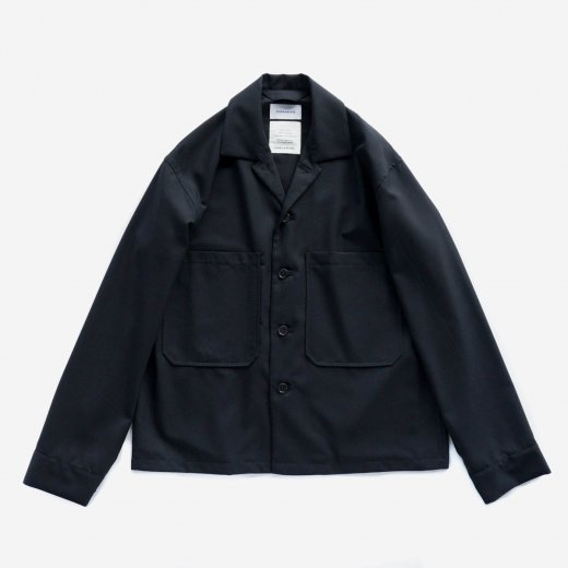 <img class='new_mark_img1' src='https://img.shop-pro.jp/img/new/icons1.gif' style='border:none;display:inline;margin:0px;padding:0px;width:auto;' />SUPER 120's WOOL TROPICAL UTILITY SHIRT