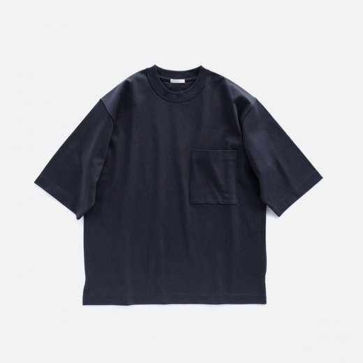 ORGANIC SMOOTH TJK Q/S POCKET TEE