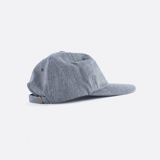 RECYCLED DENIM 6 PANELED CAP