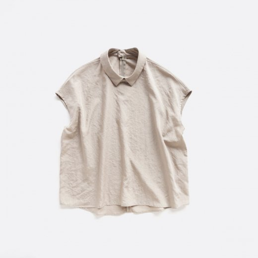 SPUN POLYESTER WRINKLES BROAD CLOTH PULLOVER SHIRTS