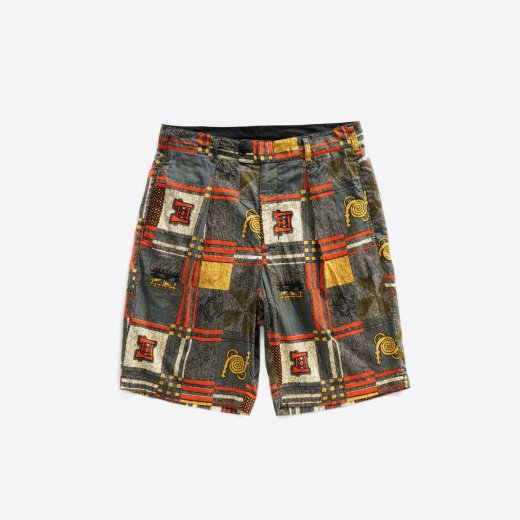 SUNSET SHORT -COTTON AFRICAN PRINT