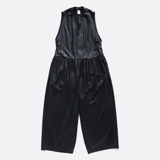 <img class='new_mark_img1' src='https://img.shop-pro.jp/img/new/icons39.gif' style='border:none;display:inline;margin:0px;padding:0px;width:auto;' />LINEN LIKE POLYESTER BUTCHER CLOTH CALENDERING OVERALLS