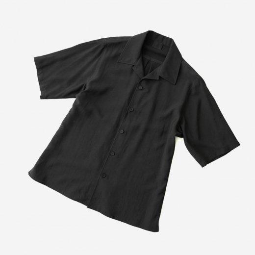 -21SS先行受注- レーヨンシルクキュプラ・ショートスリーブシャツ