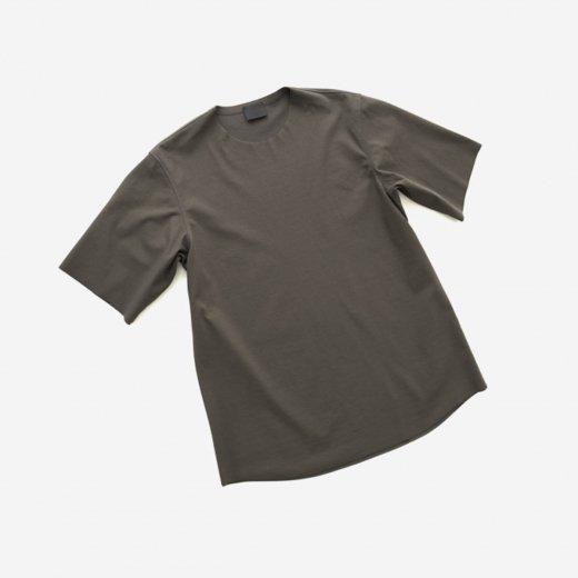 -21SS先行受注- 60/- フリーカット強撚ポンチ・Tシャツ