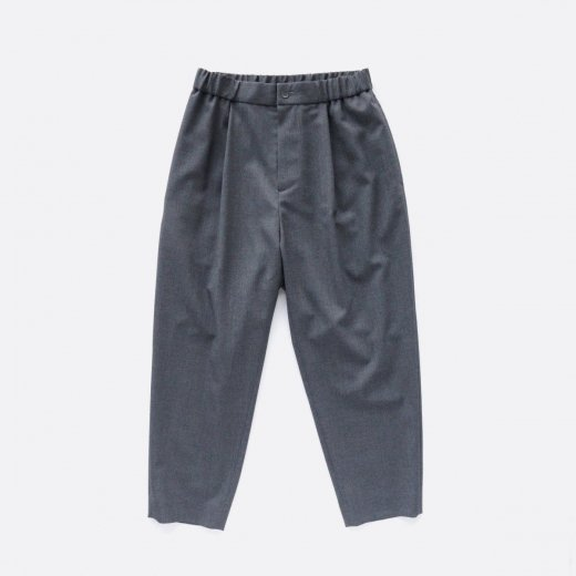 WOOL TROPICAL | EASY TAPERED PANTS