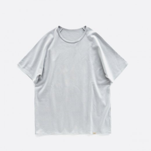 -21AW先行受注- SUPER140S WASHABLE WOOL NEW S/S TEE